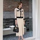 韓系OL通勤洋裝兩件套354#兩件套秋裝...