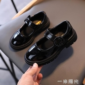 女童小皮鞋2020秋季新款鞋子兒童黑色公主鞋寶寶軟底單鞋學生鞋子  聖誕節免運