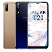 SUGAR T20 (3G/64G) 6.52吋廣角AI三鏡大螢幕大電量雙卡手機