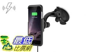 [106美國直購] XVIDA 車用無線充電組(iPhone 7)吸盤式 Charging Car Kit Suction Cup Mount