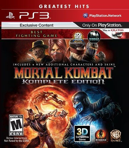 PS3 Mortal Kombat: Komplete Edition(美版代購)