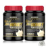 【加拿大ALLMAX】奧美仕金牌乳清蛋香草口味飲品2瓶組 (907公克*2瓶)
