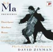 馬友友 首演專輯 (大提琴) CD Premieres: Danielpour/Kirchner/Rouse Cello Concertos (音樂影片購)