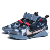 NIKE KOBE AD NXT FF BLUE  HERO 灰 藍 透明 運動 籃球鞋 (布魯克林) CD0458-900