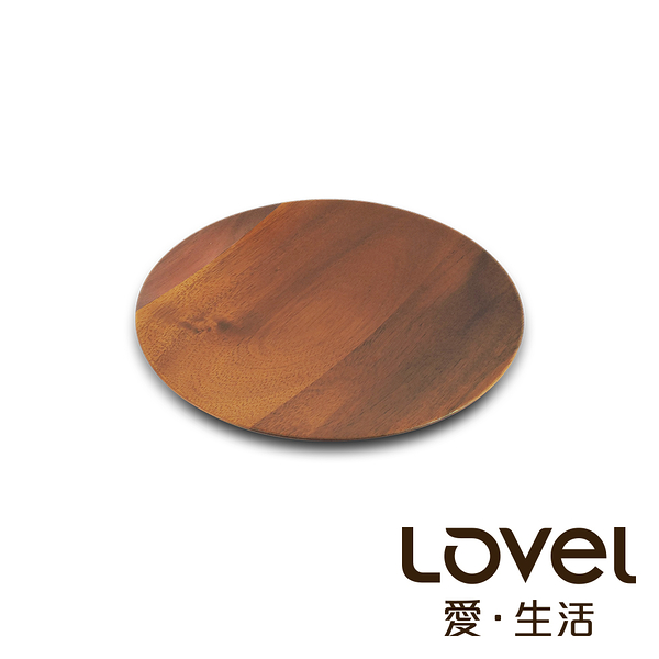 LOVEL 洋槐木淺盤16cm
