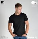 (純棉)素色T恤-男中性版-黑色 (尺碼S-2XL) (現貨-預購) [Wawa Yu品牌服飾]