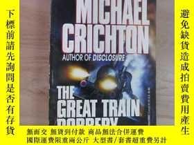 二手書博民逛書店英文書罕見THE GREAT TRAIN ROBBERY MICHAEL CRICHTON(共281)Y159