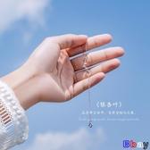【新飾界】銀致S925銀手鍊女韓版簡約個性百搭清新森系閨蜜女款