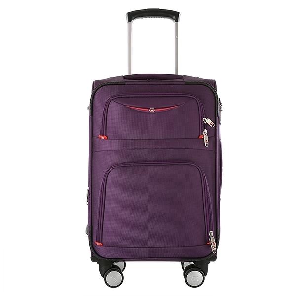 行李箱 拉桿箱男女萬向輪商務旅行箱24寸26寸牛津布密碼行李箱包 萬寶屋
