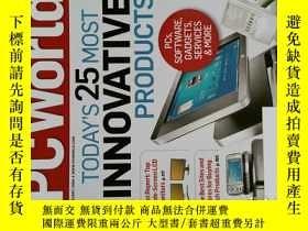 二手書博民逛書店PC罕見WORLD Magazine 2008年2月 英文個人電腦雜誌 可用樣板間道具雜誌Y14610