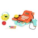 《 美國 B.toys 感統玩具 》battat系列 - 露卡電子收銀機(南瓜) / JOYBUS玩具百貨