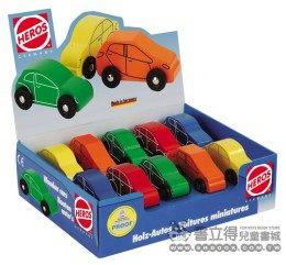 書立得-《HEROS》可愛造型小汽車(01082)一隻 隨機出貨