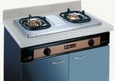 【歐雅系統家具廚具】豪山 HOSUN SK-2026S 雙口崁入式瓦斯爐(銅爐頭)(已停產)