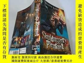 二手書博民逛書店Skulduggery罕見Pleasant:愉快的詭計Y200392