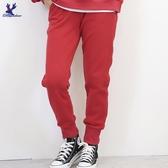 【秋冬新品】American Bluedeer - 刺繡抽繩棉褲 二色