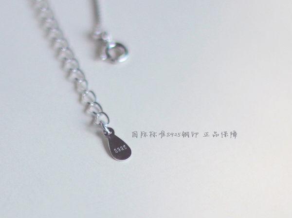 Star 銀色系列 - Dear魔方鎖骨鏈 (s925純銀)-B8
