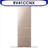 《結帳打95折》日立【RV41CCNX】394公升三門(與RV41C同款)冰箱CNX星燦金
