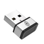 PQI My Lockey 360° USB指紋辨識器 文件加密 適用Window 7/8/10 B06XG4MHFJ [9美國直購]