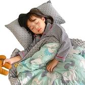 加厚兒童棉被泡泡毯 多功能加厚暖膚毯 雙面雙色親膚加厚蓋被毯-JoyBaby
