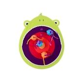 美國【B.Toys】鏢風蟲蟲-青蛙小隊BX1676Z[衛立兒生活館]