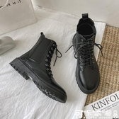 馬丁靴 2020年秋季新款馬丁靴女英倫風ins潮時尚百搭潮流帥氣瘦瘦靴增高 快速出貨