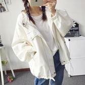 棒球外套  棒球服短外套2018新款韓版學生bf原宿寬松休閑夾克衫