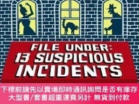 二手書博民逛書店File罕見Under: Suspicious IncidentsY454646 Lemony Snicket