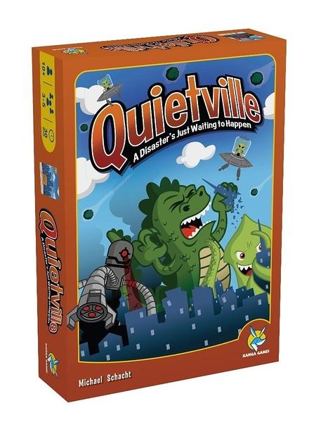 【KANGA GAMES】2021年度大降價 寧靜小鎮 Quietville 家庭益智派對桌上遊戲