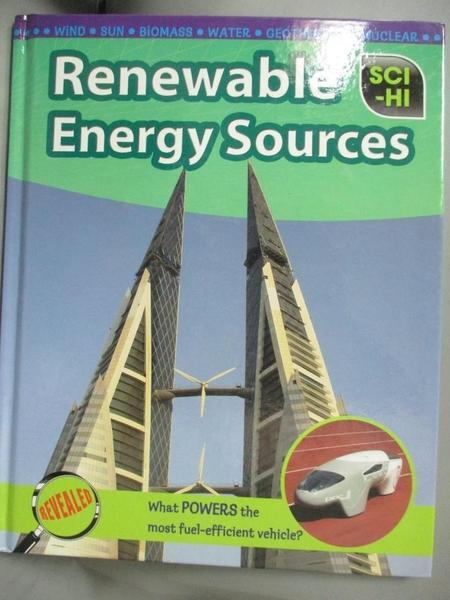 【書寶二手書T3/科學_EPI】Renewable Energy Sources_Andrew Solway