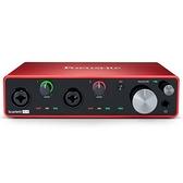 凱傑樂器 Focusrite Scarlett 4i4 新版三代 錄音介面 USB 介面(總代理/公司貨)保固二年