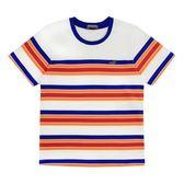 『小鱷魚童裝』撞色條紋T恤(08號~18號)531403