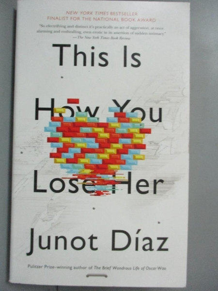 【書寶二手書T4/原文小說_BQK】This Is How You Lose Her_Junot Diaz