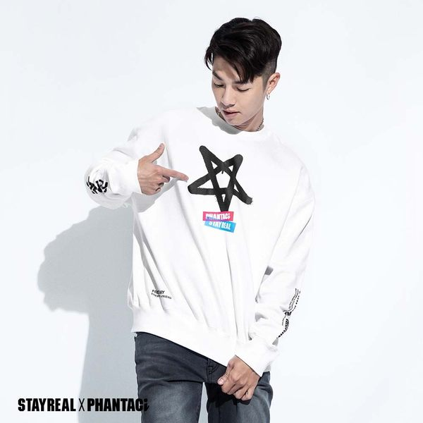STAYREAL x PHANTACi 寬版厚棉T