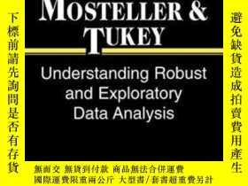 二手書博民逛書店Understanding罕見Robust And Exploratory Data AnalysisY255