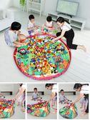 兒童積木玩具大顆粒拼裝益智積木桌