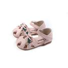 兒童鞋 涼鞋 小女生鞋 護趾 粉紅色 小童 童鞋 B1026 no185