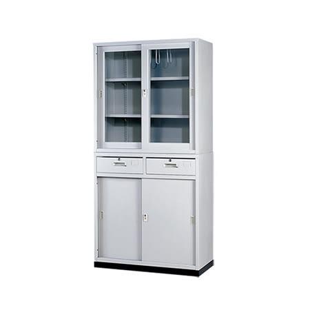 【YUDA】HA A級3x6 中二抽 鐵櫃(不含腳座) 鐵櫃 文件櫃/展示櫃/公文櫃