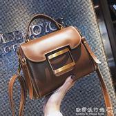 百搭韓版手提包簡約時尚大氣單肩仙女斜背包    歐韓流行館
