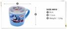 湯馬士 304不鏽鋼杯 水杯 杯子附蓋 255ML 正版 奶爸商城 通販 702085
