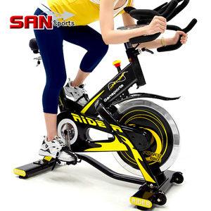 (福利品)M4雙頭龍20KG飛輪健身車+送贈品(5倍強度.20公斤)飛輪車室內腳踏車哪裡買【SAN SPORTS】
