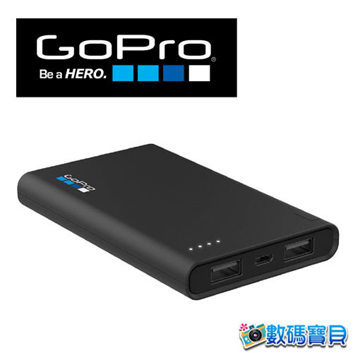 【免運費】 GoPro AZPBC-002 可攜式行動電源 (6000mAh) 可充四次 雙1.5A USB【台閔公司貨】 azpbc002
