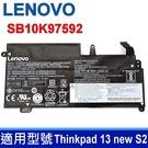 LENOVO SB10K97592 3芯 原廠電池 20GJ-006JSP SB10J78997 SB10K97592 Thinkpad 13 new S2 01AV400 01AV435