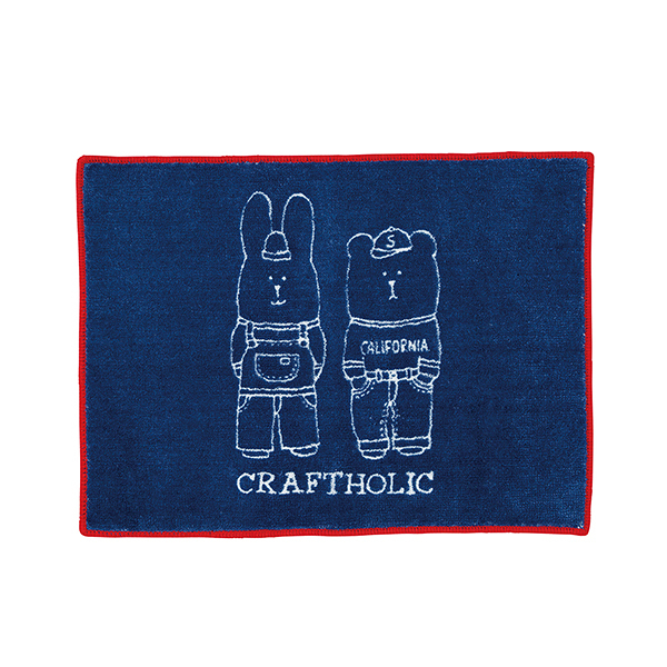 宇宙人 經典 地毯 地墊 日本正版 INITIAL craftholic 該該貝比日本精品 ☆