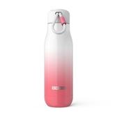ZOKU設計款真空不鏽鋼保溫瓶(500ml) - 漸層粉