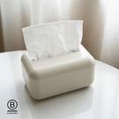簡約北歐風客廳紙巾盒抽紙盒 白/卡其/灰/綠/粉 黛尼時尚精品