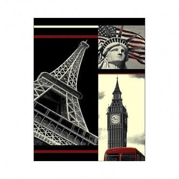 好萊塢地毯160x225cm鐵塔