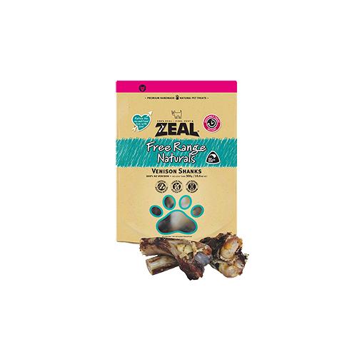 寵物家族-ZEAL 真致 天然紐西蘭寵物點心 鹿小腿 300g
