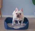 寵物廁所 狗狗廁所柯基中型小型犬自動寵物用品尿盆便盆沖水排狗砂盆防【快速出貨八折下殺】