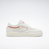 Reebok Club C 85 [EF3489] 女鞋 運動 休閒 網球 健身 日常 耐磨 舒適 復古 穿搭 米 橘