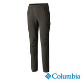 Columbia 男 防潑UPF50彈性長褲-軍綠色 【GO WILD】